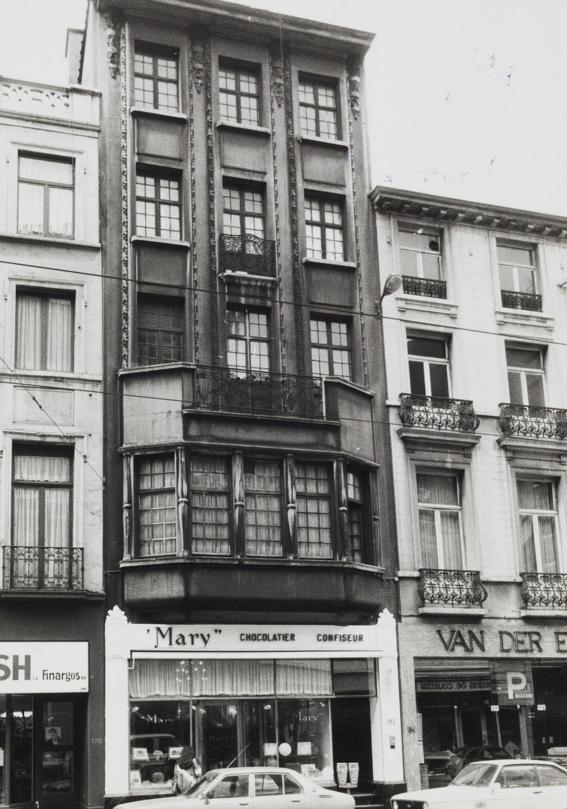 rue Royale 180-182 (act. 178)., 1981