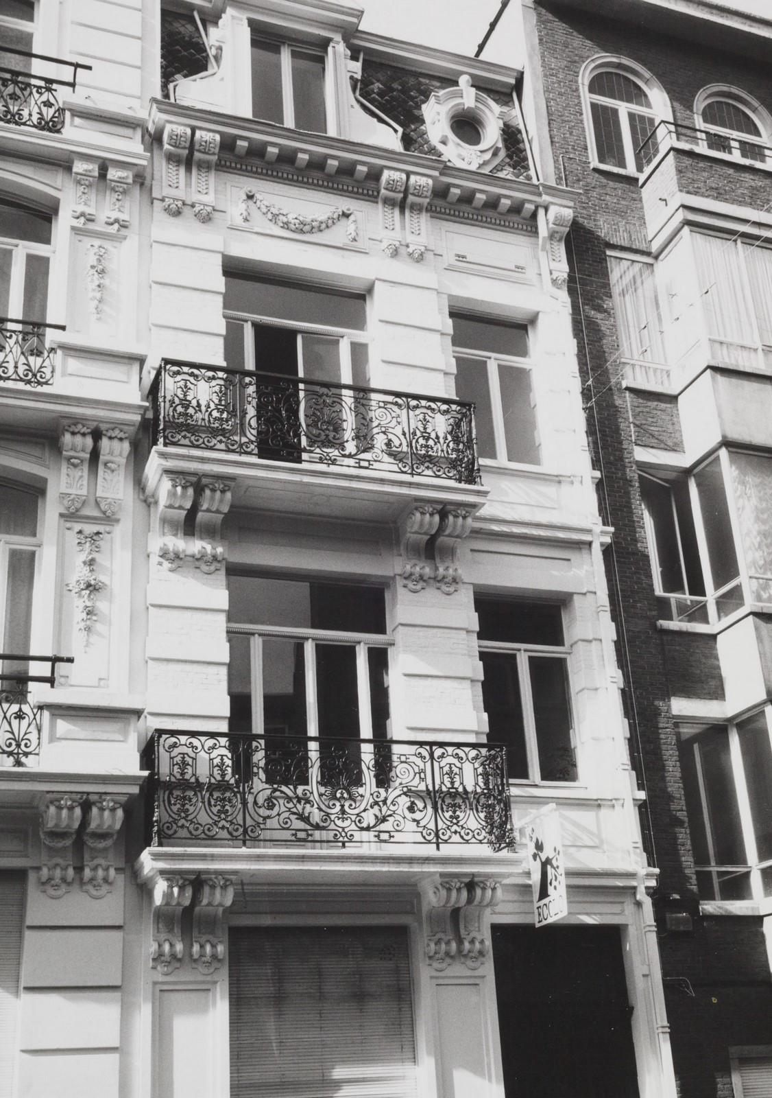rue de la Sablonnière 9., 1985