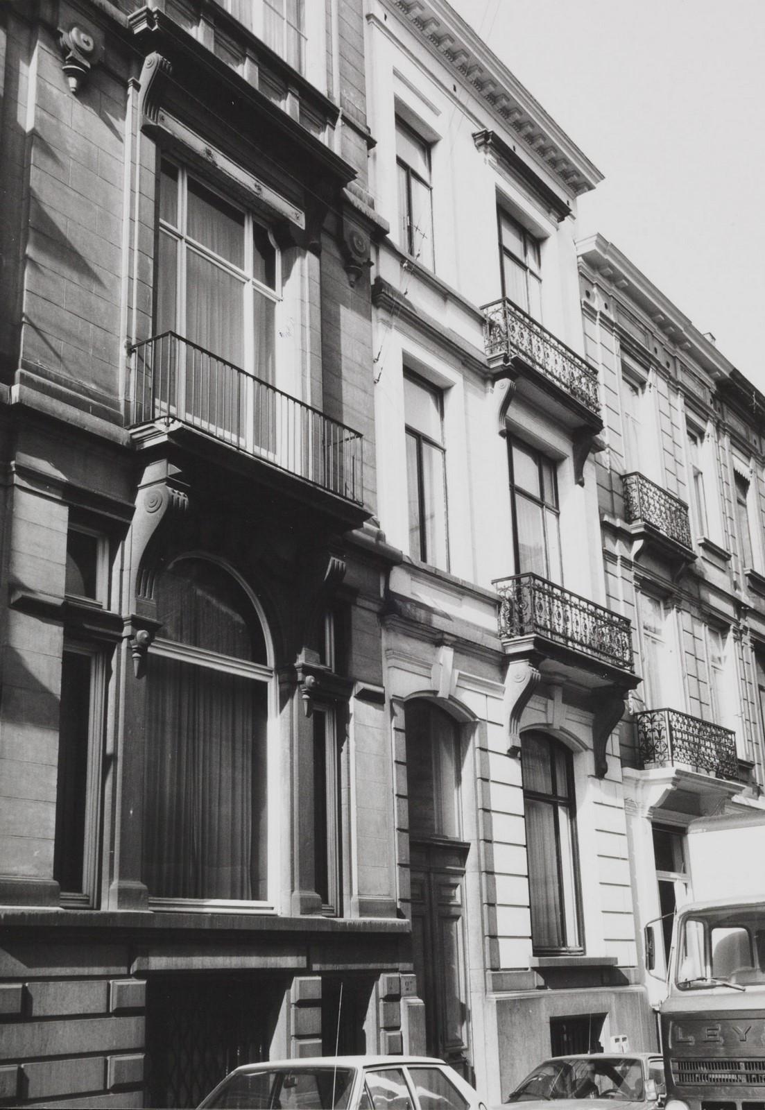 rue de la Sablonnière 27., 1985