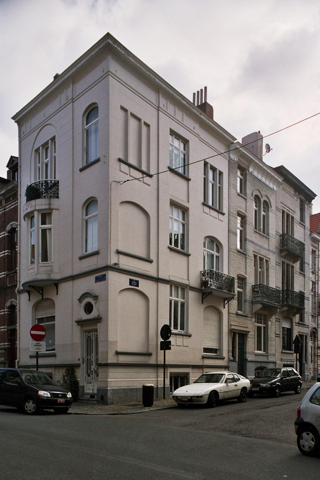 Rue Jenneval 47 et rue du Beffroi 2, 2a., 2007