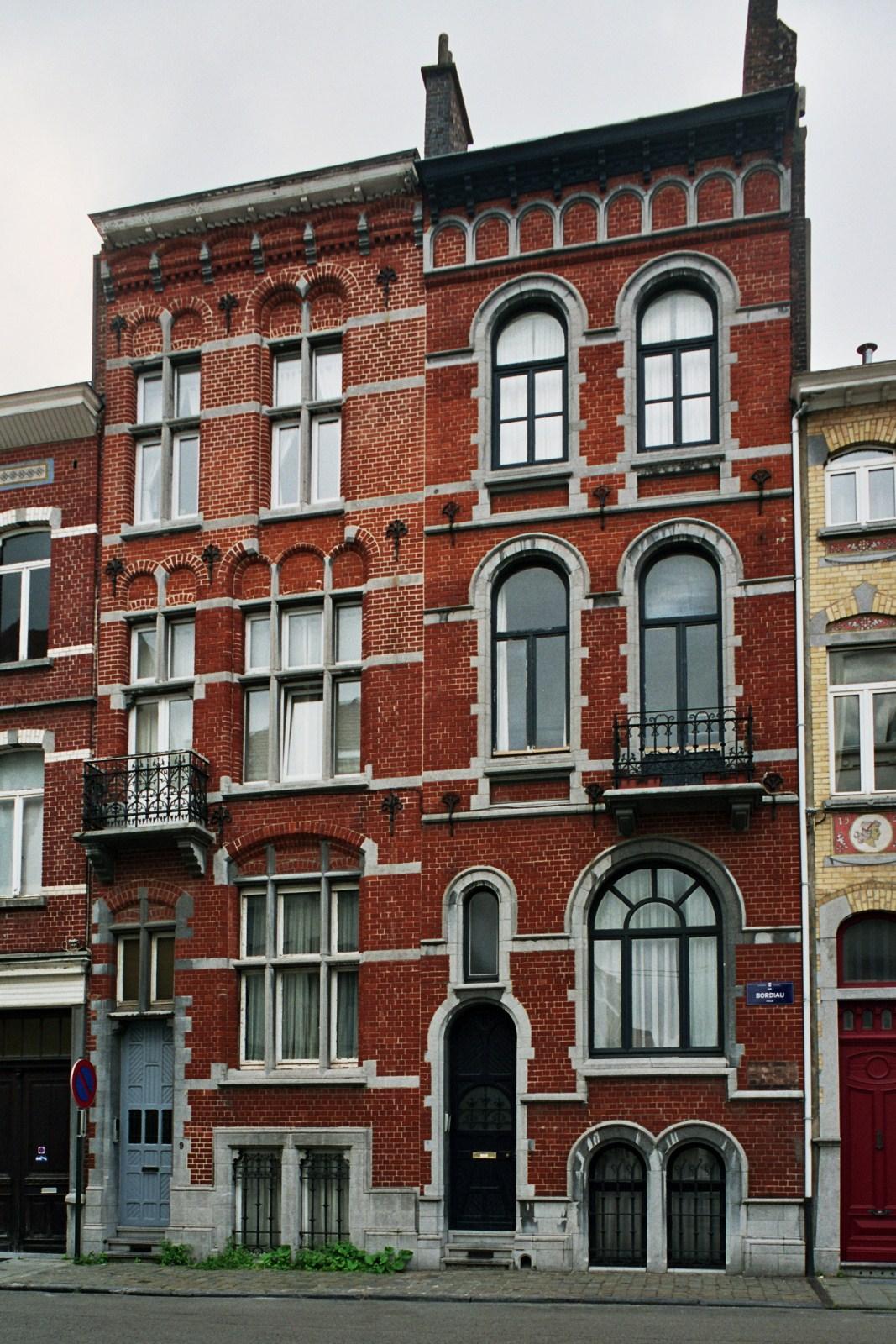Rue Bordiau 9 et 7., 2007