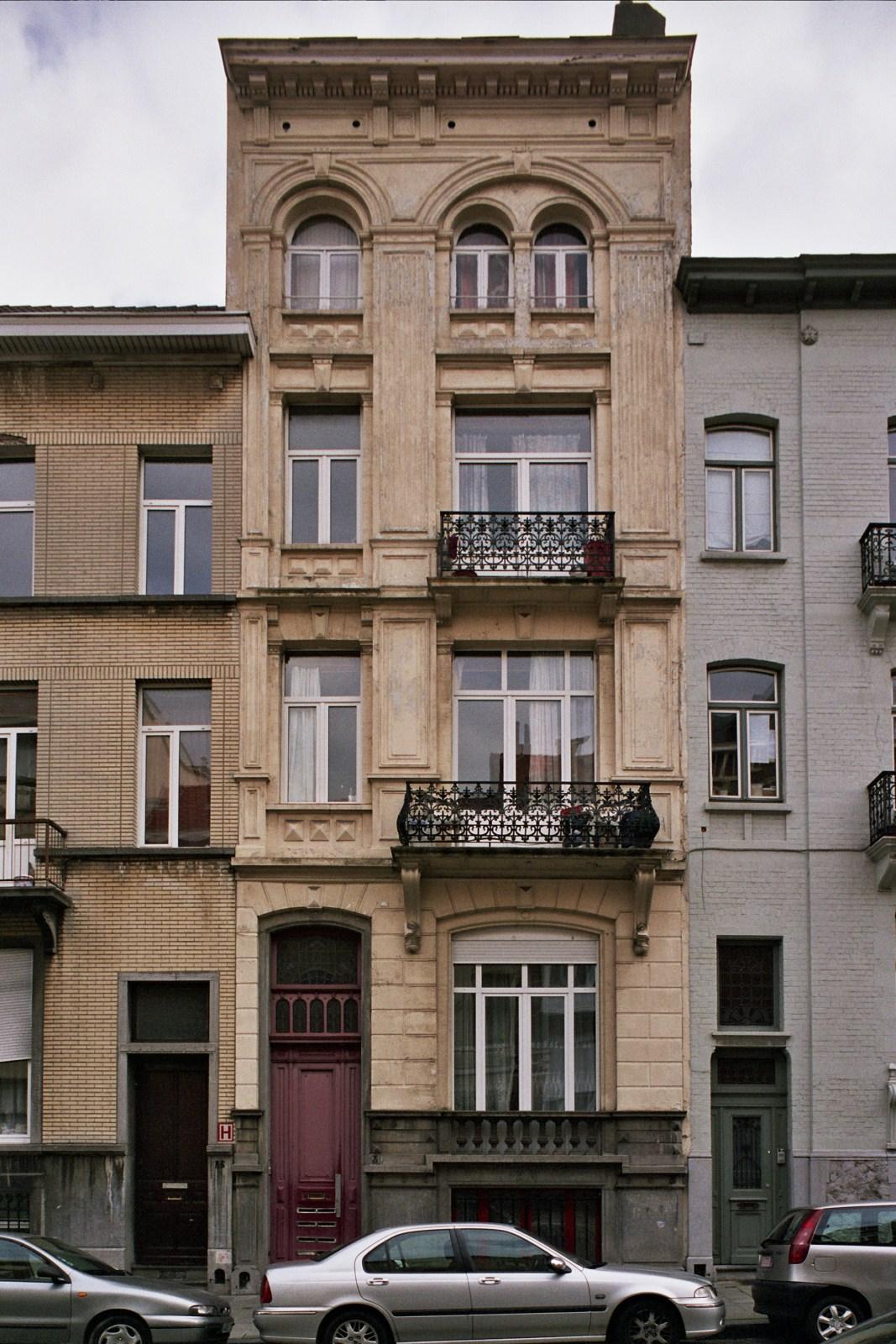 Rue du Cardinal 38., 2007