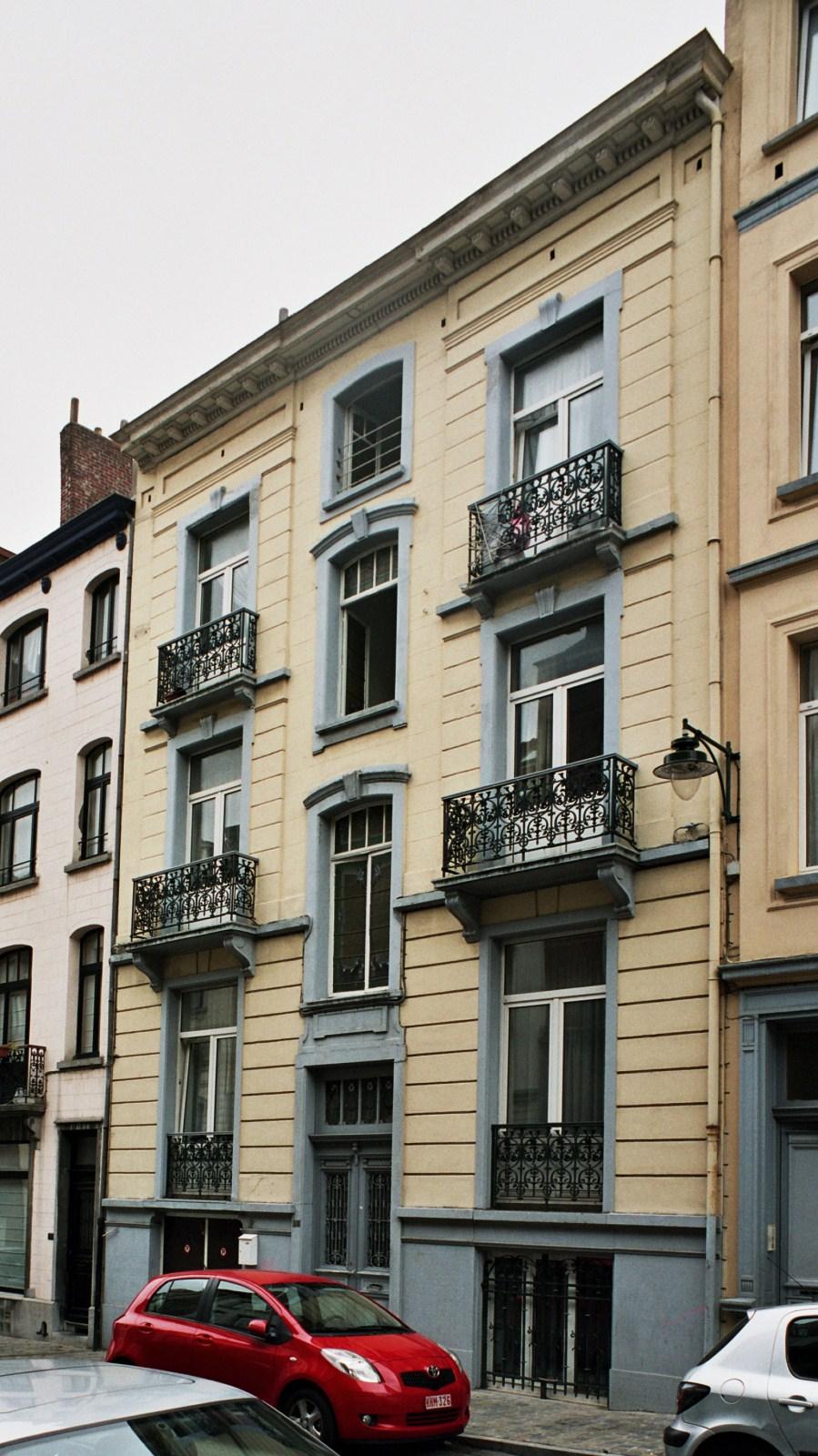 Rue Charles Quint 58., 2007