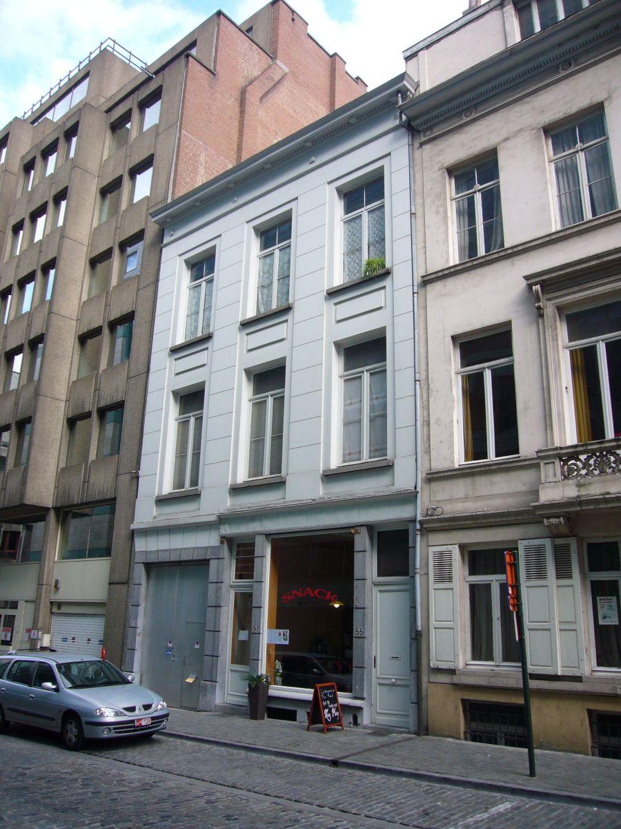 Rue du Commerce 55-57, 59, 2009