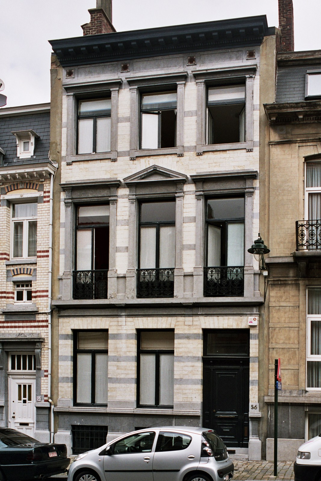 Rue des Confédérés 56., 2007