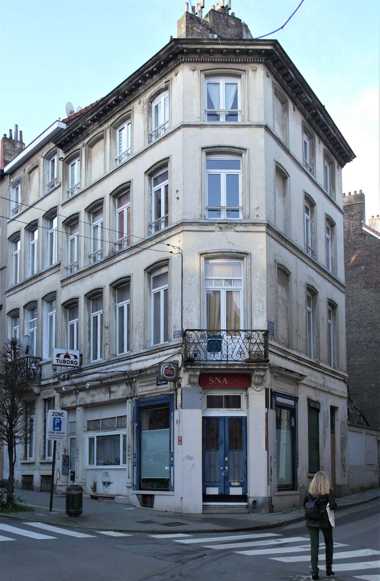 Rue des Deux Eglises 50, 52, 54 - rue du Marteau 43, 2020