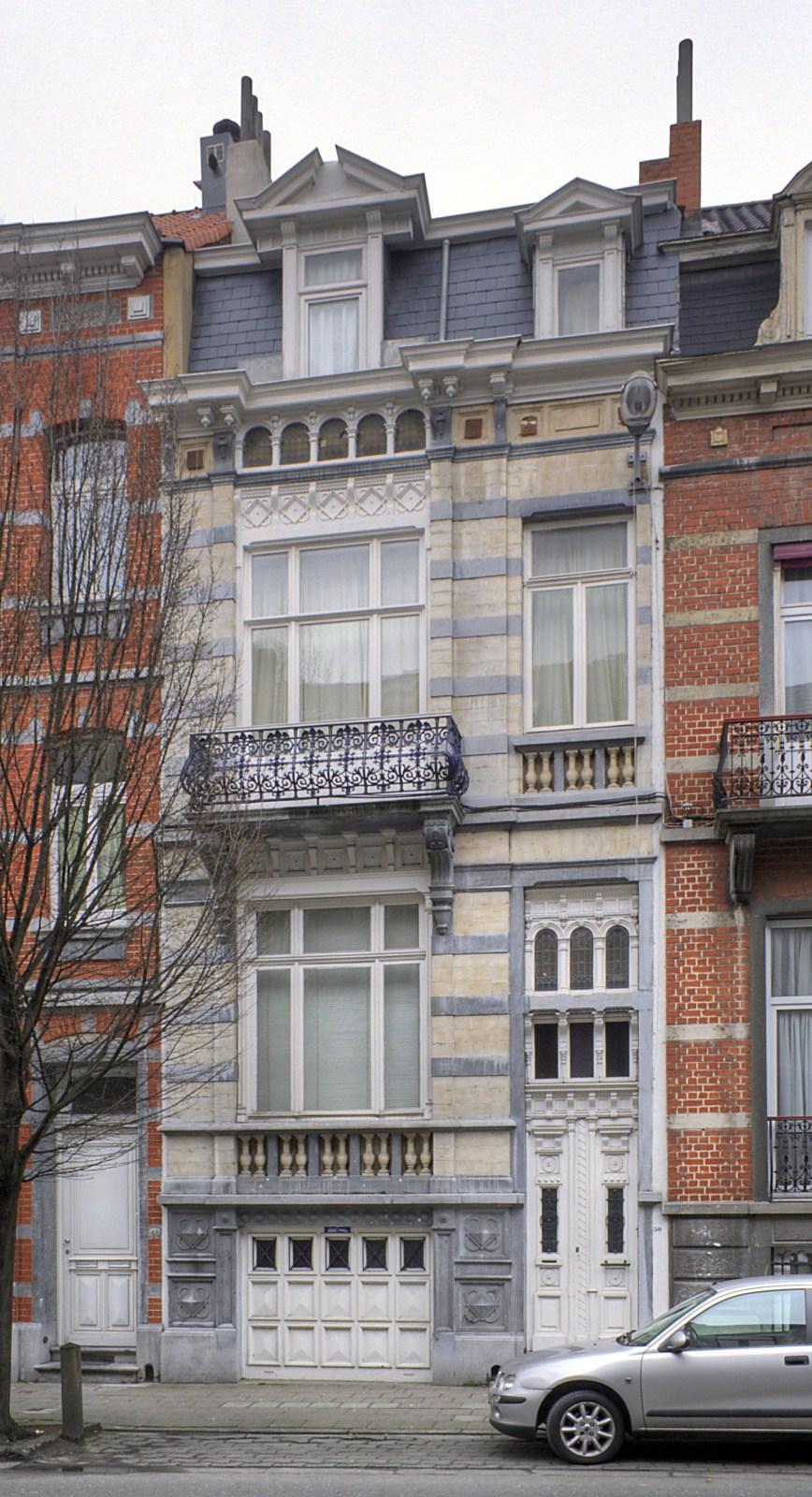 Rue Franklin 50.© © V. Brunetta & M. Eberlin, 2009