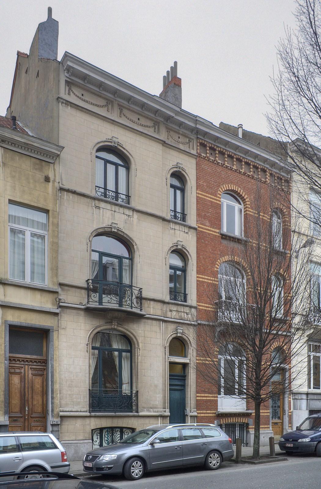 Rue Franklin 132, 134.© © V. Brunetta & M. Eberlin, 2009