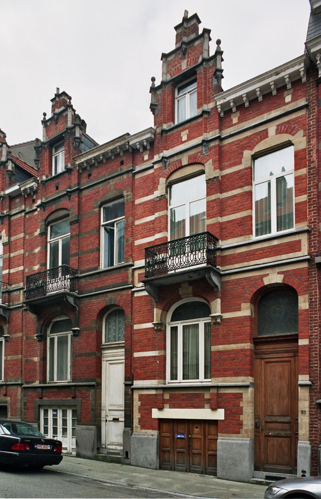 Rue Le Titien 53 et 51., 2008