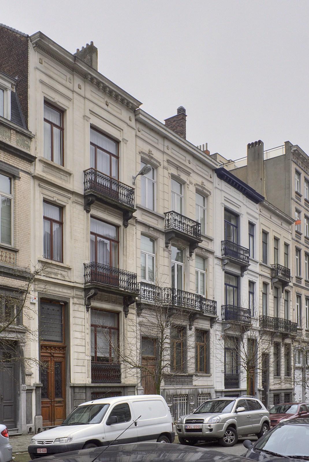 Avenue Michel-Ange 21 à 15.© © V. Brunetta & M. Eberlin, 2009
