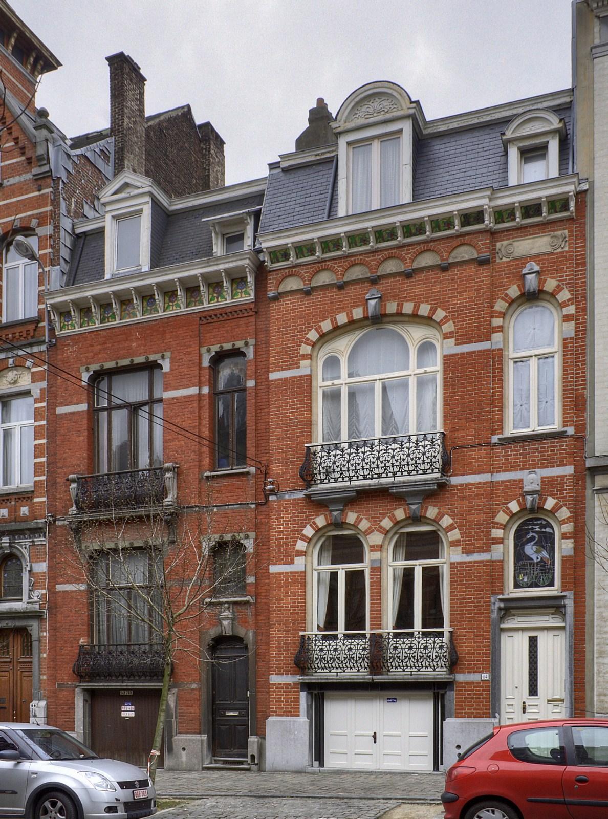 Avenue Michel-Ange 62 et 64.© © V. Brunetta & M. Eberlin, 2009