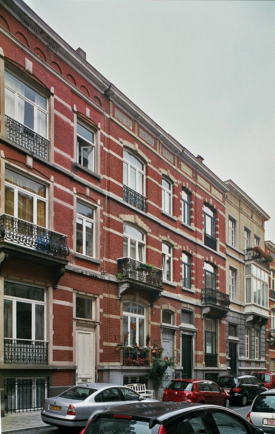 Rue Murillo 32 à 38., 2009