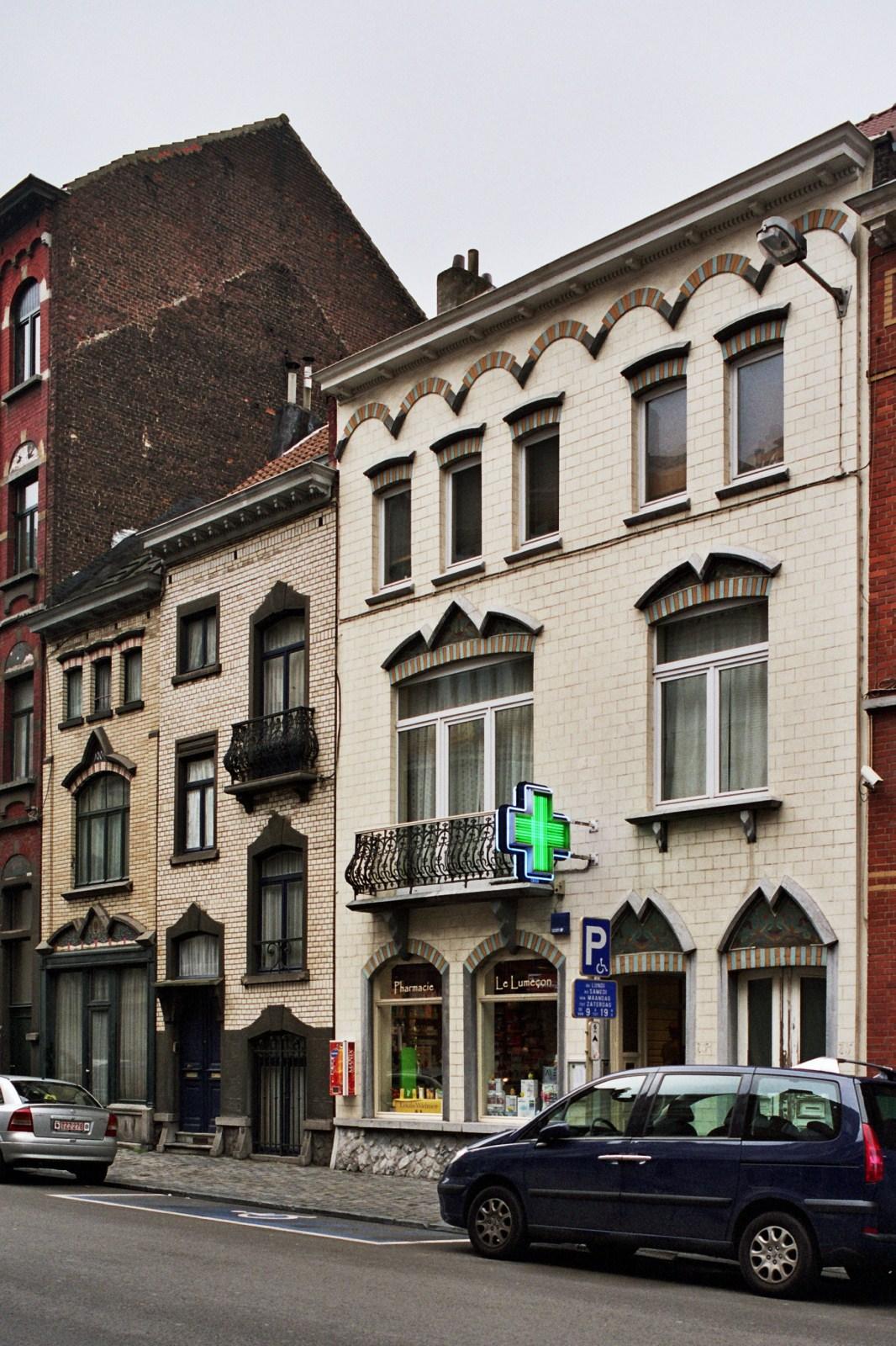 Rue du Noyer 79, 77 et 75-75a., 2008