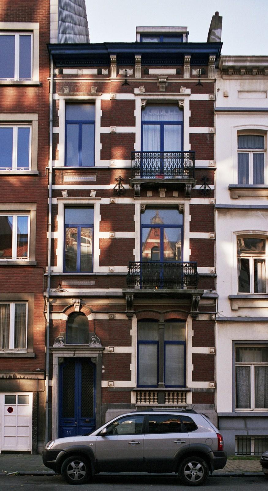 Rue Ortelius 13., 2007