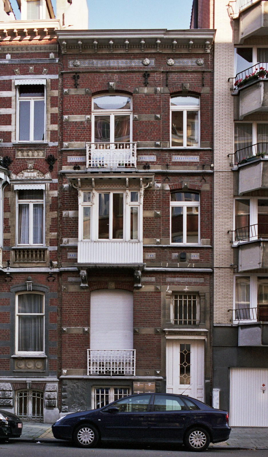 Rue Ortelius 30., 2007