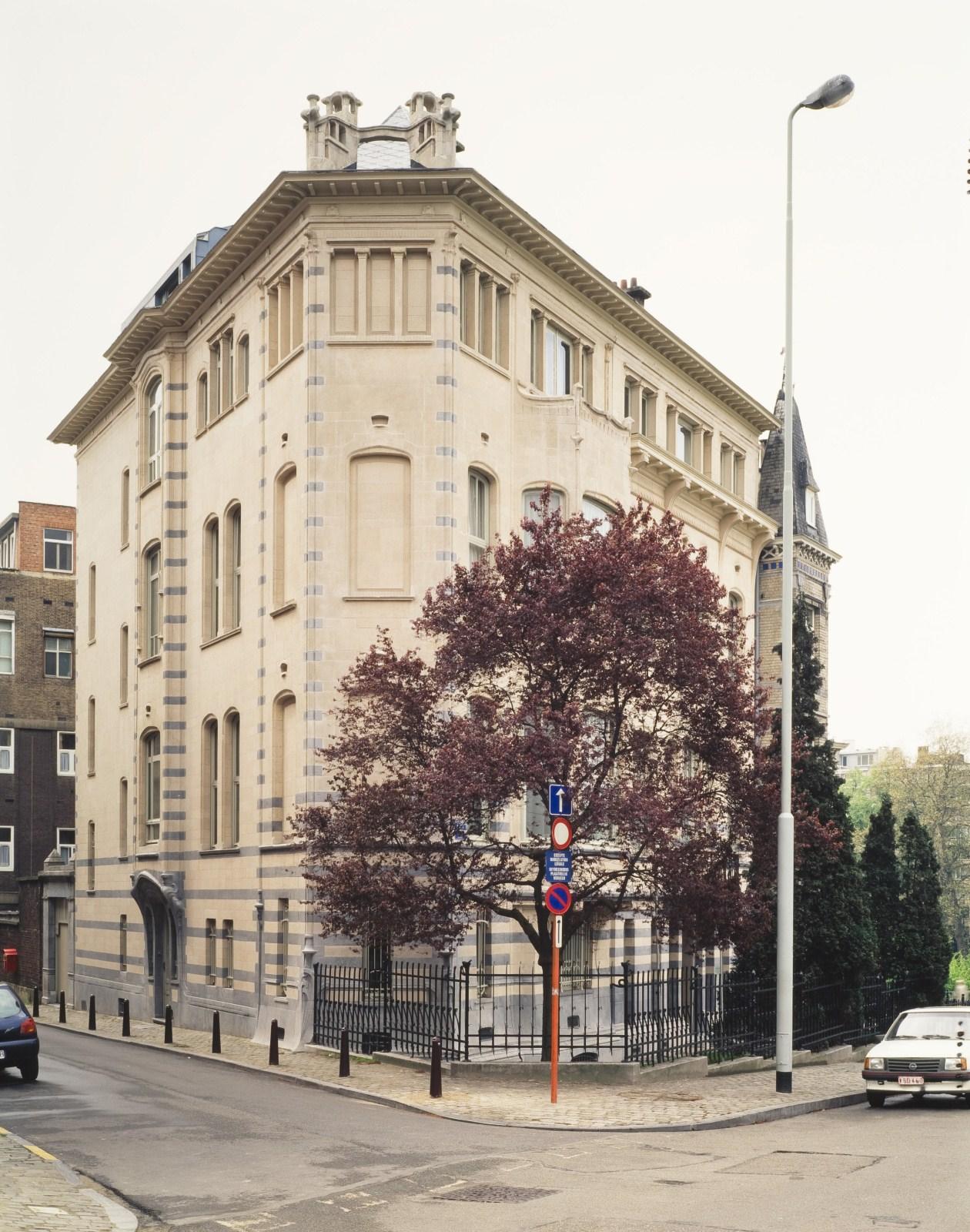 Avenue Palmerston 3 et rue Boduognat 14.© Photo Ch. Bastin & J. Evrard © MRBC