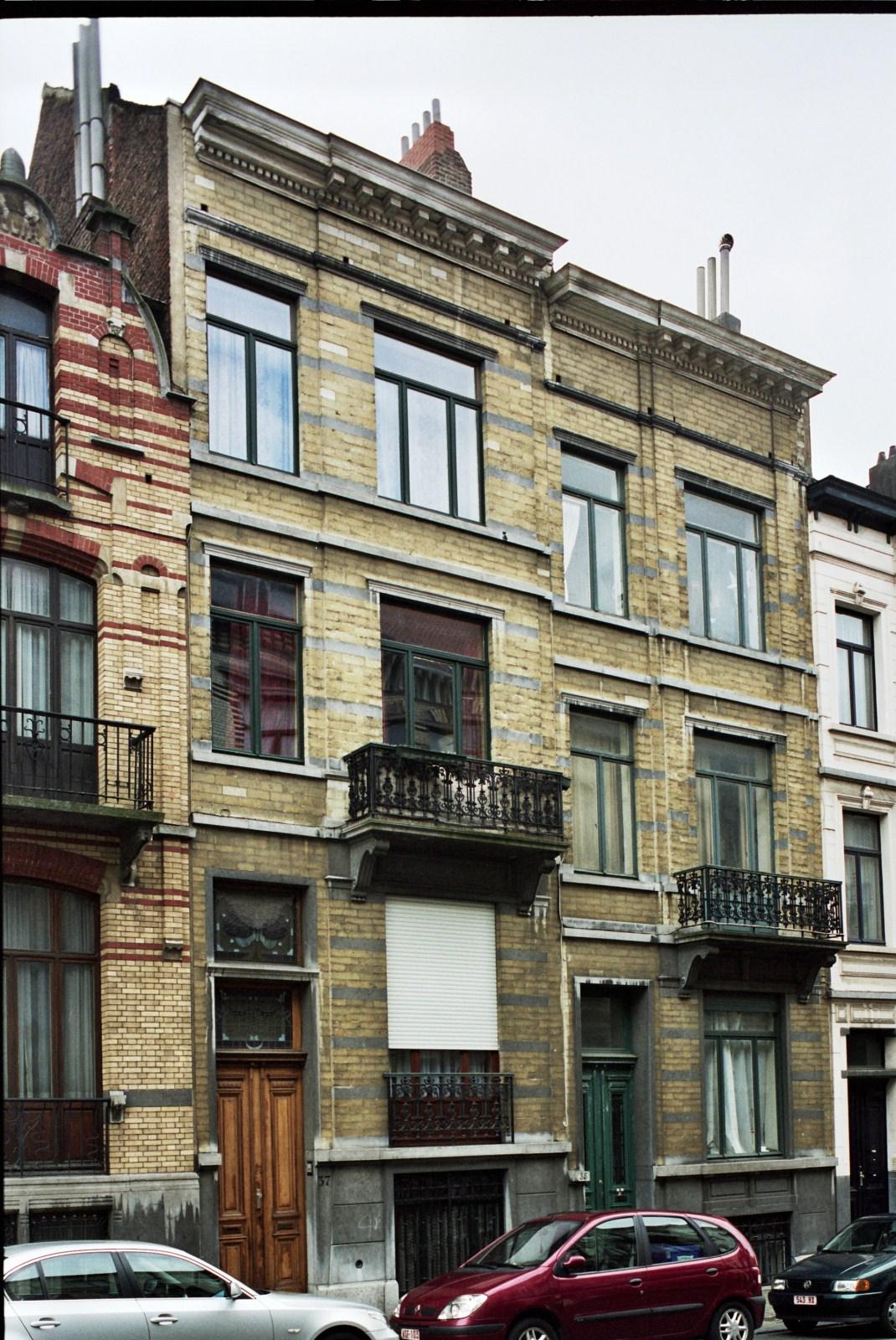 Rue des Patriotes 37 et 35., 2007