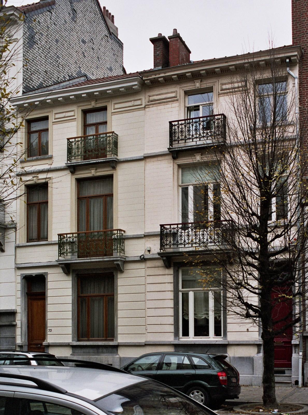 Rue de Pavie 33 et 31., 2007