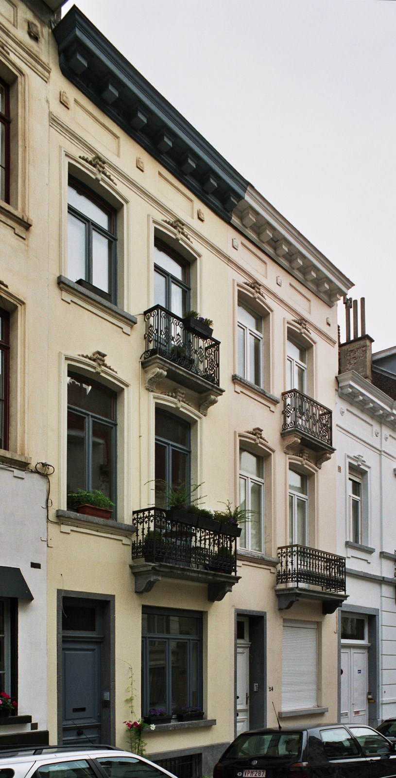 Rue Saint-Quentin 22 et 24., 2008