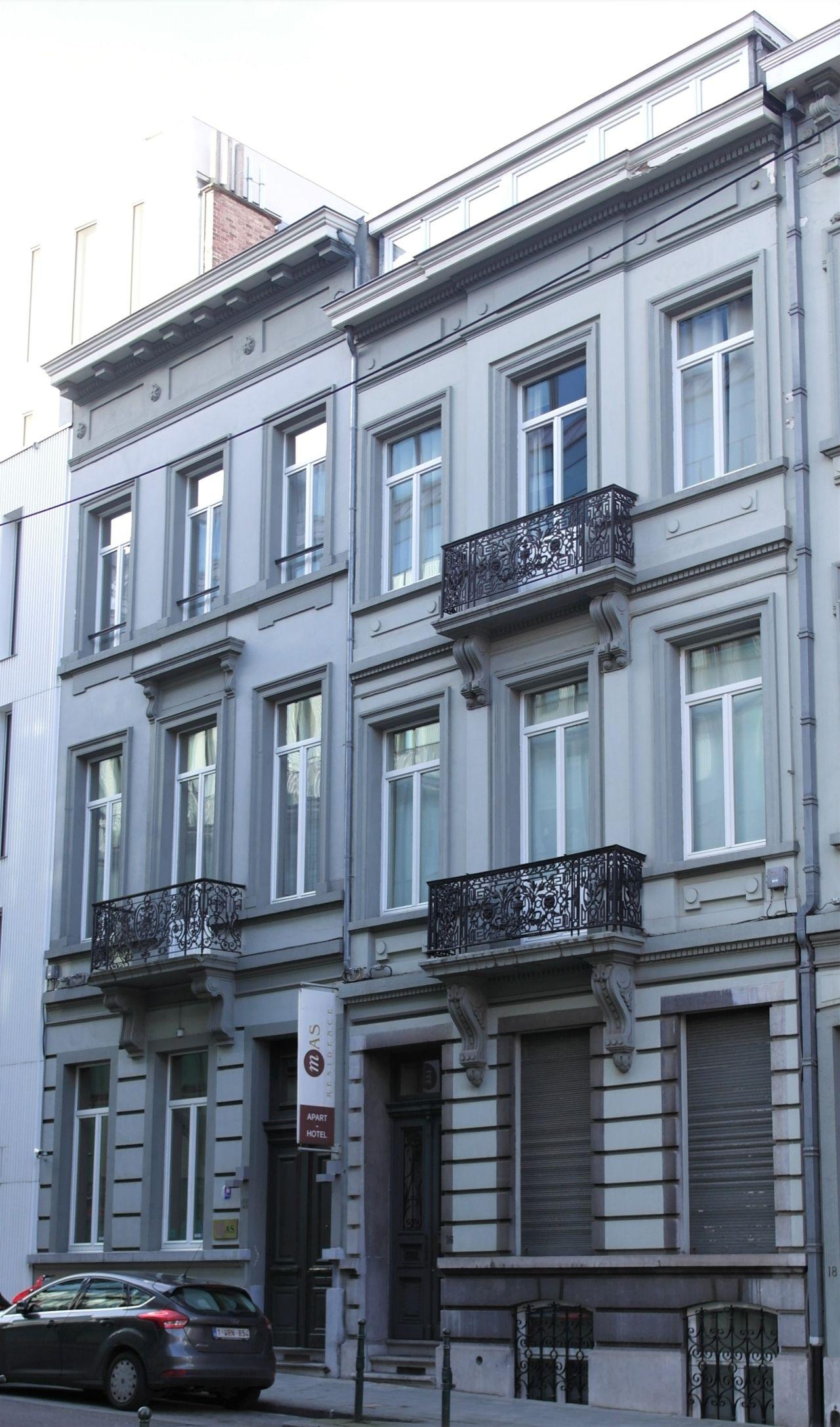 Rue de Spa 14, 16, 2020