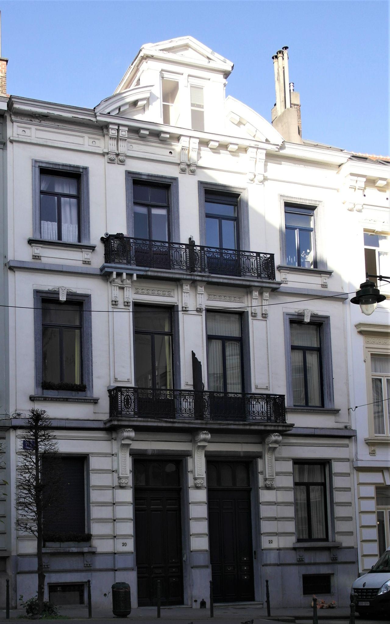 Rue de Spa 20, 22, 2020