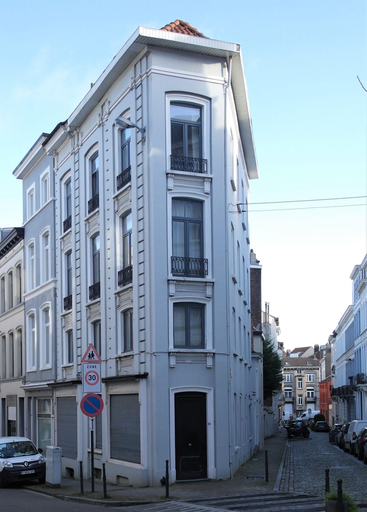 Rue de Spa 33 - 2 rue du Berceau et rue de Spa 34 - 4 rue du Berceau, 2020