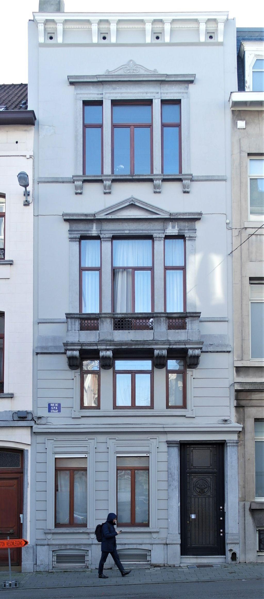 Rue de Spa 51, 2020