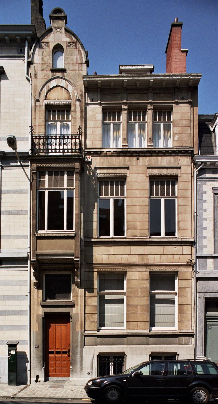 Rue du Taciturne 40., 2008