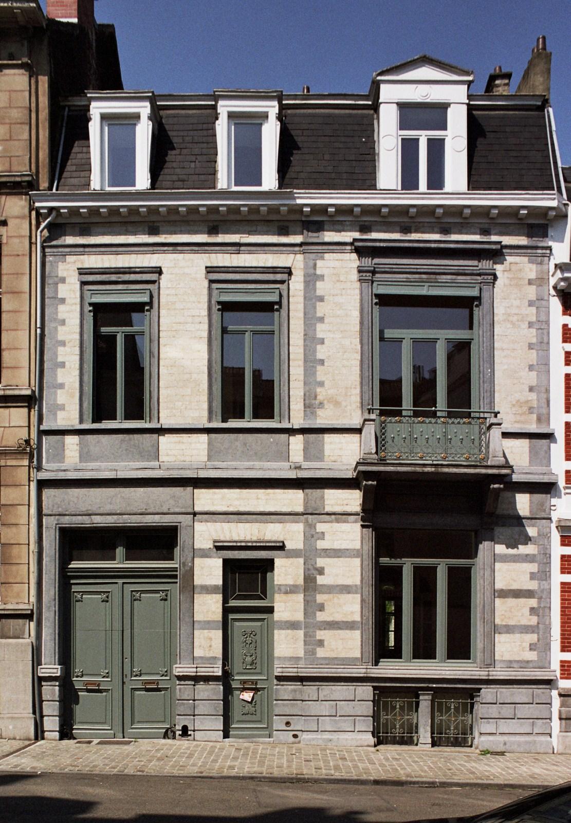 Rue du Taciturne 42., 2008