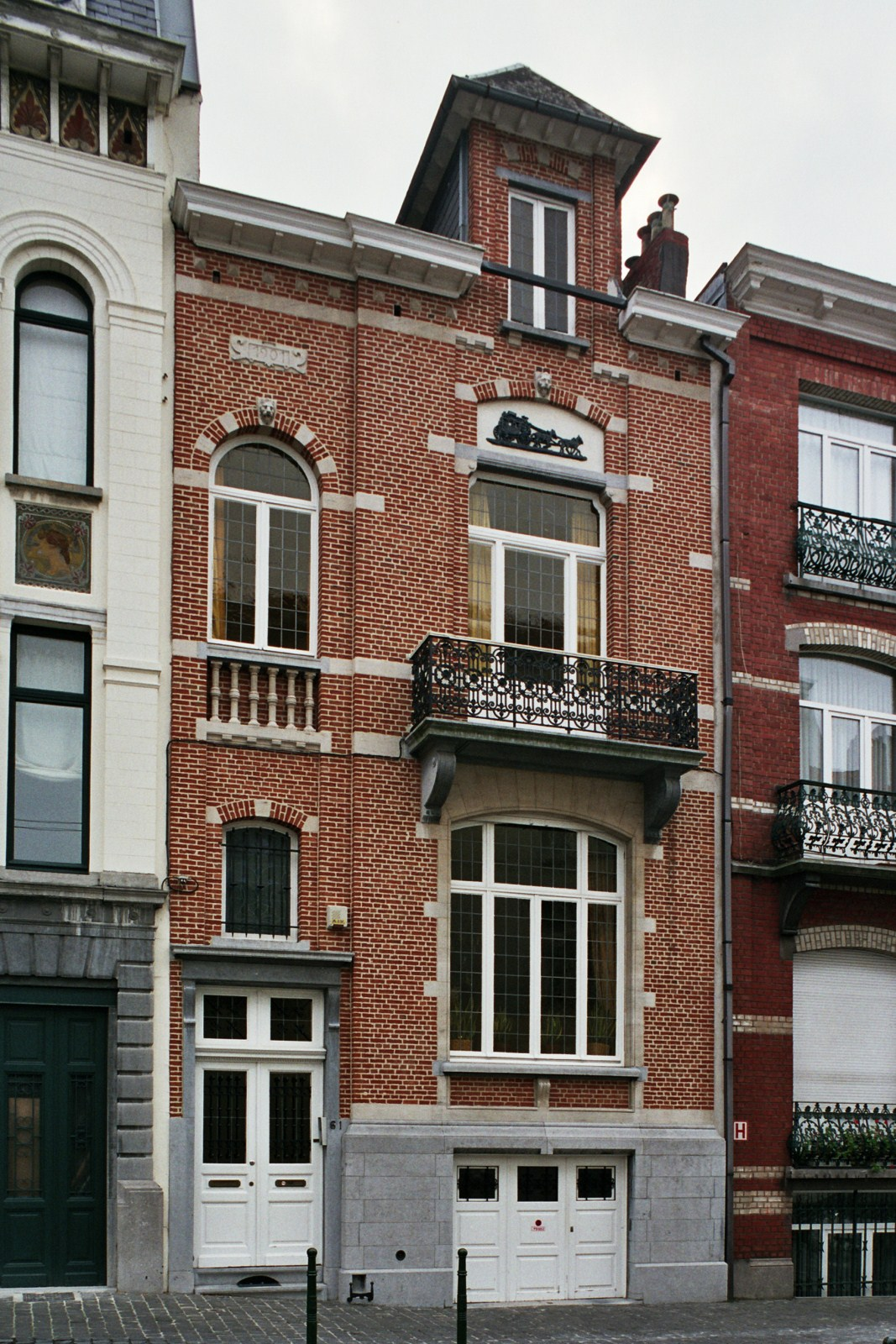 Rue Van Campenhout 61., 2007