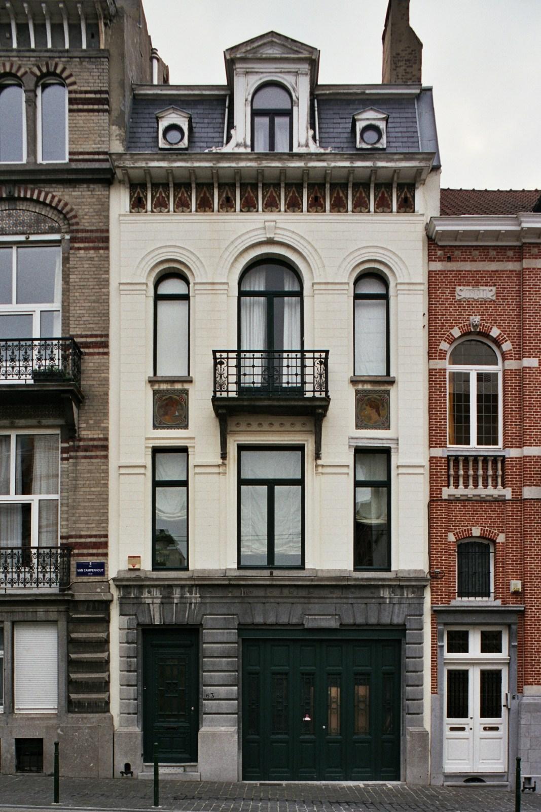 Rue Van Campenhout 63., 2007