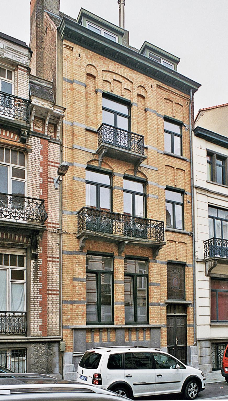 Rue Van Ostade 31., 2009