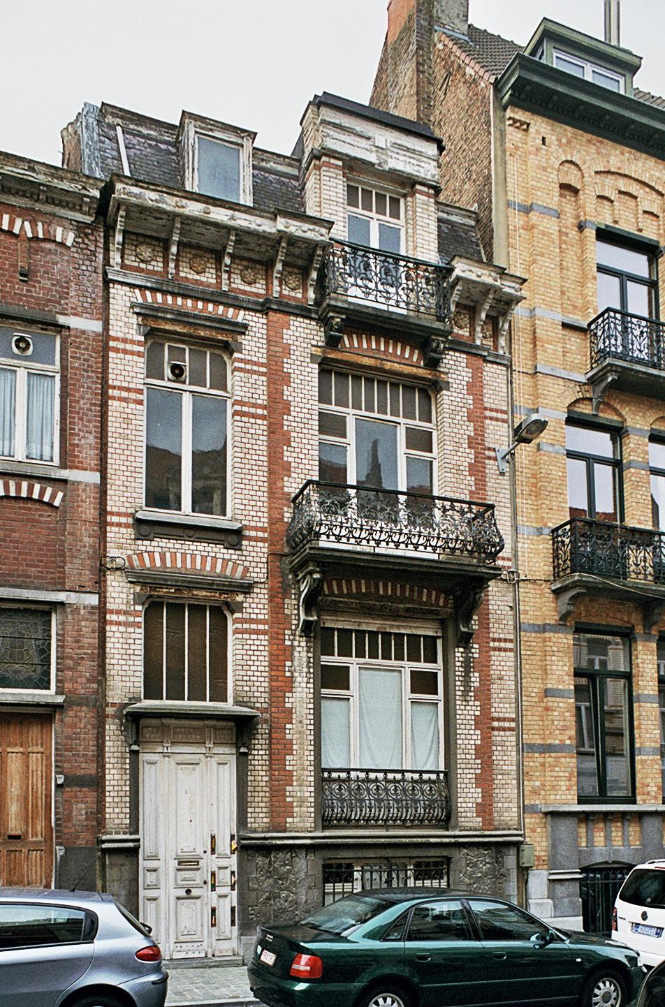 Rue Van Ostade 33., 2009