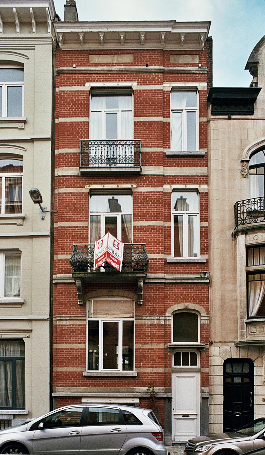 Rue Wappers 19., 2009