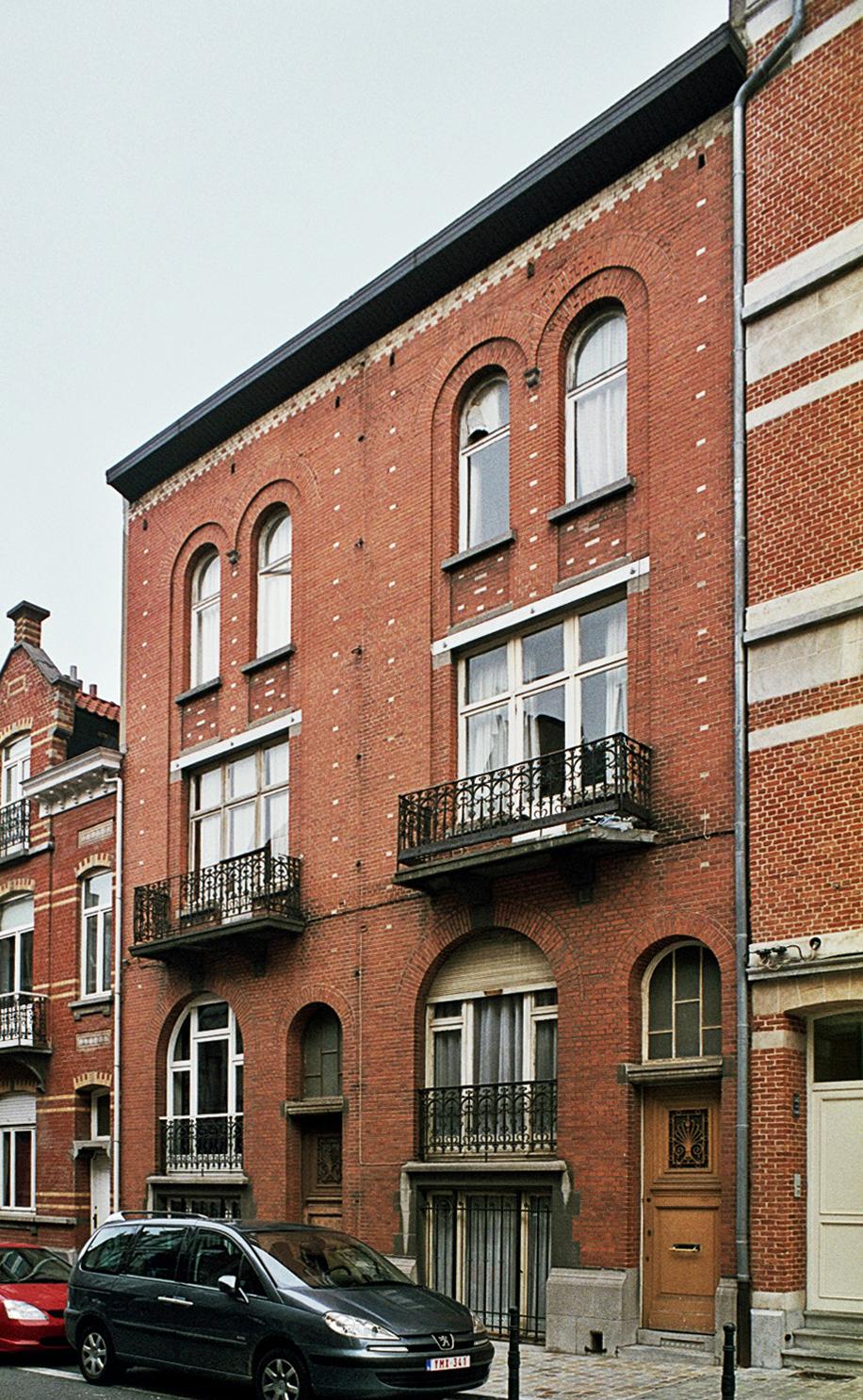Rue Wappers 22, 24., 2009