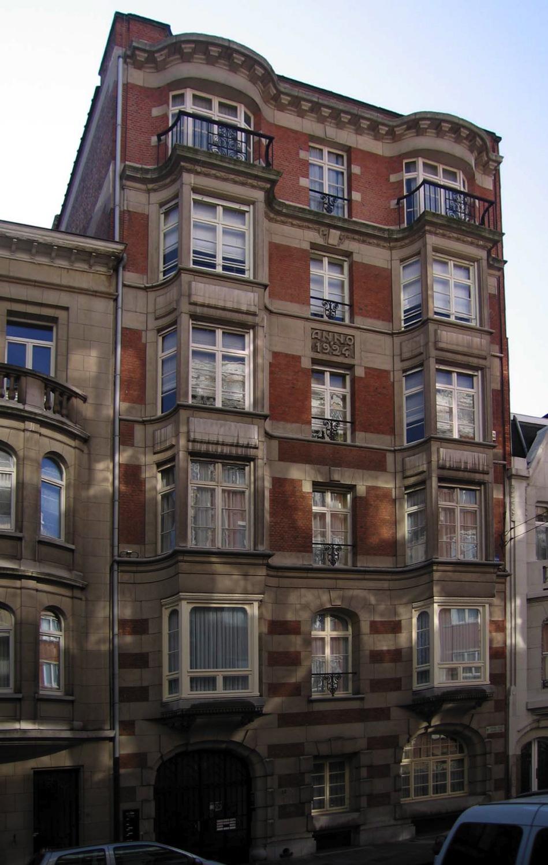 Rue Émile Claus 12., 2005