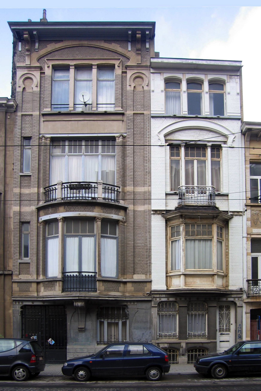 Avenue Legrand 19 et 21., 2005