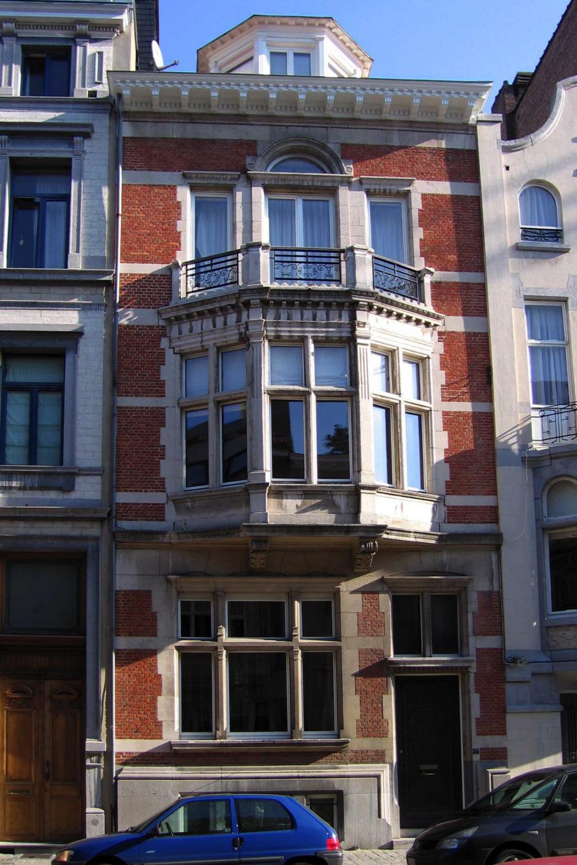 Rue Van Eyck 36., 2005