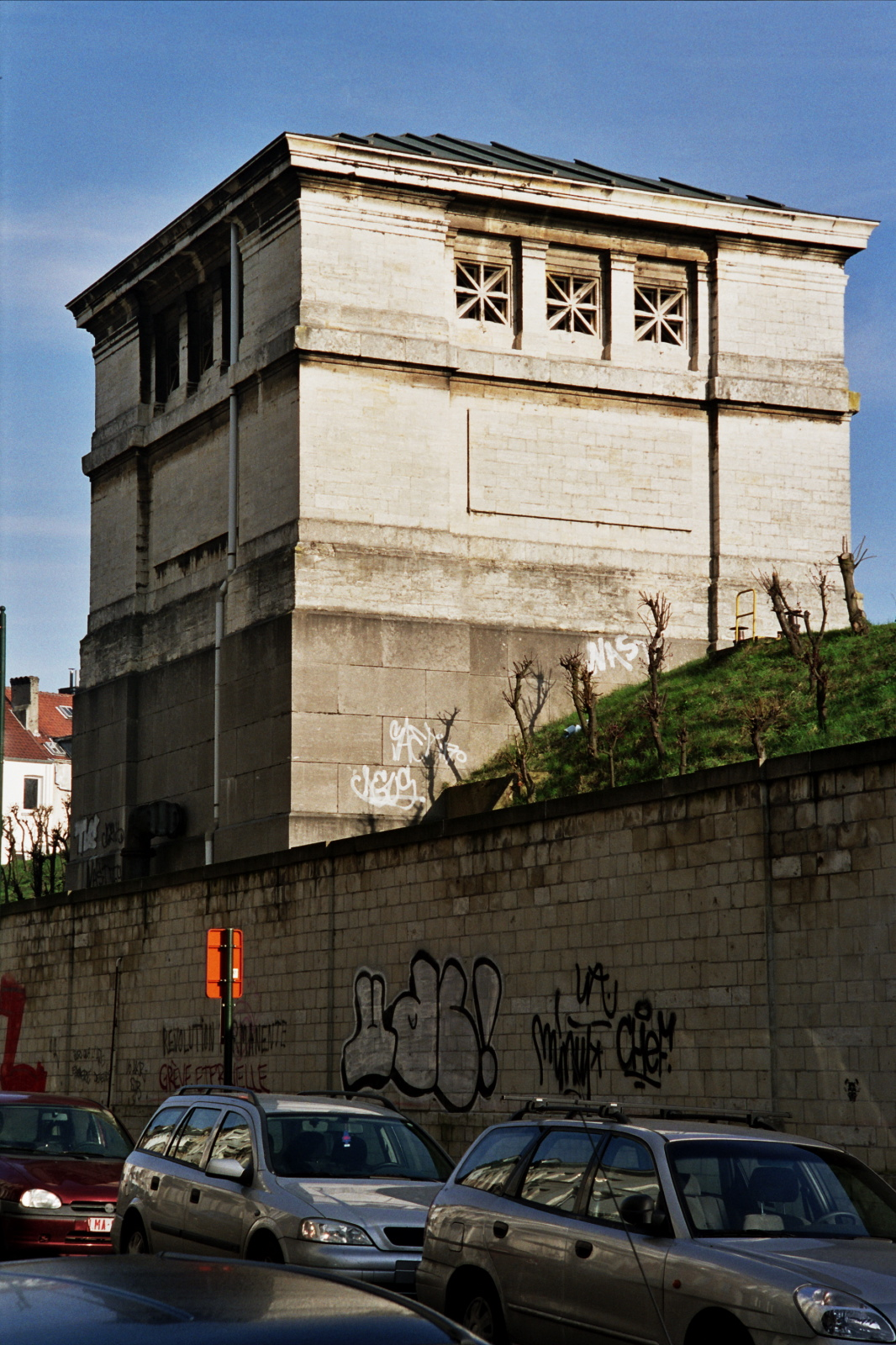 Rue de la Vanne, pavillon du réservoir d'eau de la Ville de Bruxelles., 2005