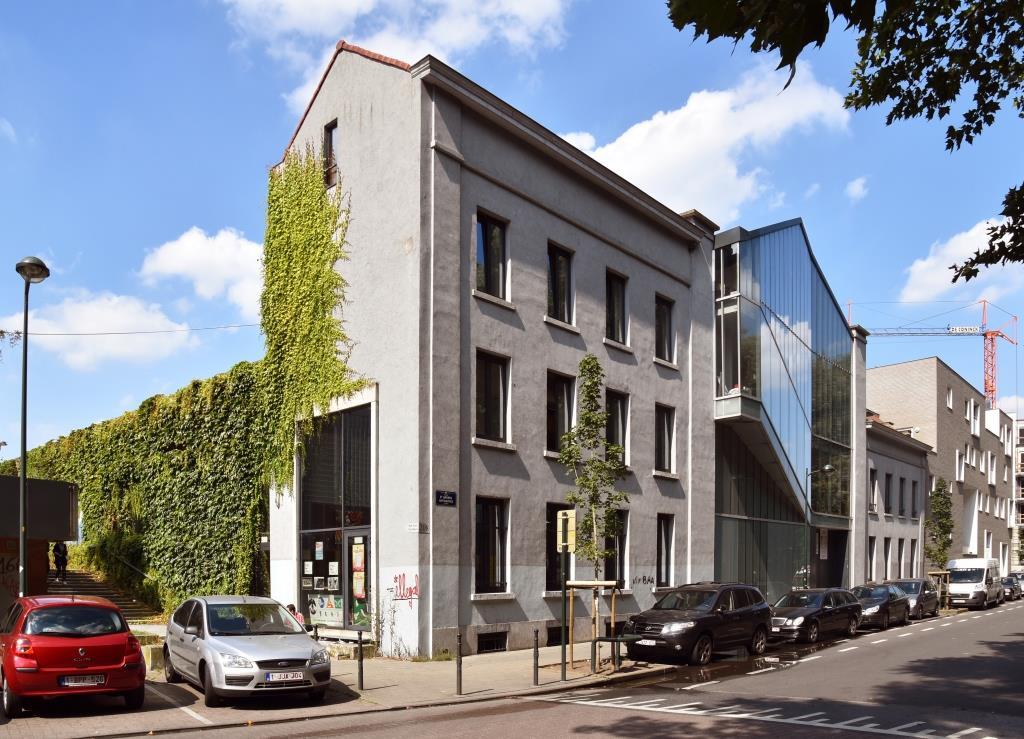 Chaussée d'Anvers 208-210, ancien dépôt de tram, 2016