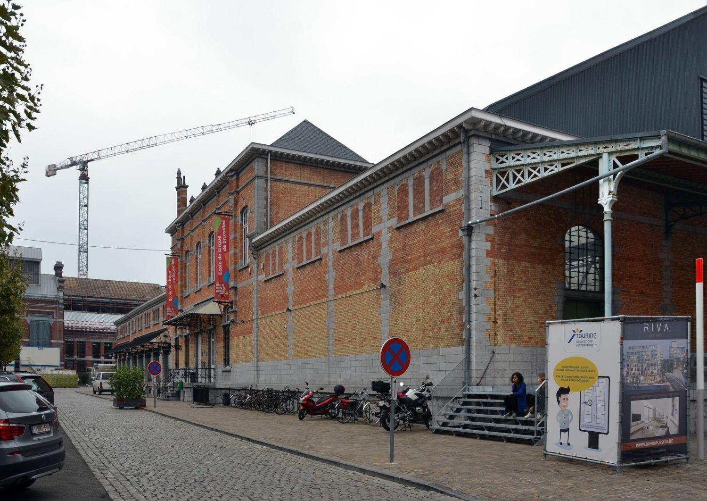 Rue Picard 3, Tour et Taxis, entrepôt A, façade sud© (© ARCHistory / APEB, 2017)