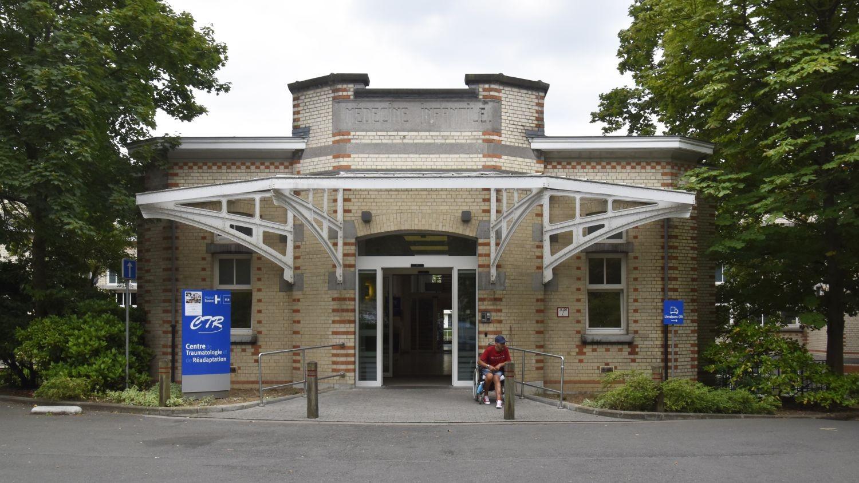 Place Arthur Van Gehuchten 4, hôpital Brugmann, médecine infantile, entrée principale© (© ARCHistory / APEB, 2018)