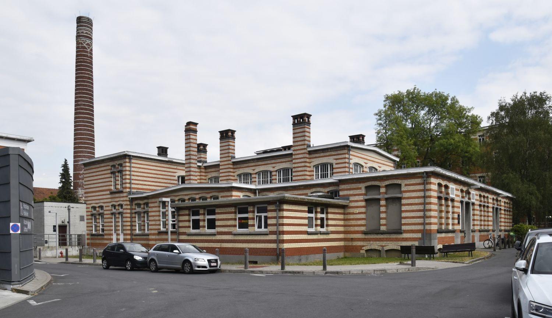 Place Arthur Van Gehuchten 4, hôpital Brugmann, cuisine centrale, façades latérale gauche et avant© (© ARCHistory / APEB, 2018)