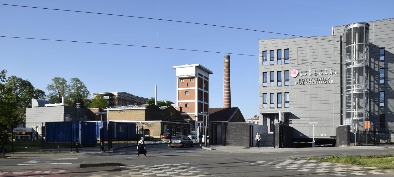 Place Arthur Van Gehuchten 4, hôpital Brugmann, bâtiments des services techniques© (© ARCHistory / APEB, 2018)