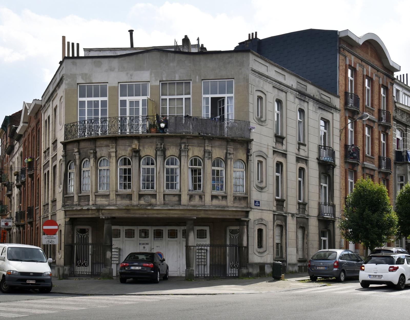 Rue des Chrysanthèmes 18, 20 et rue des Artistes 64-64a et 66, 2017