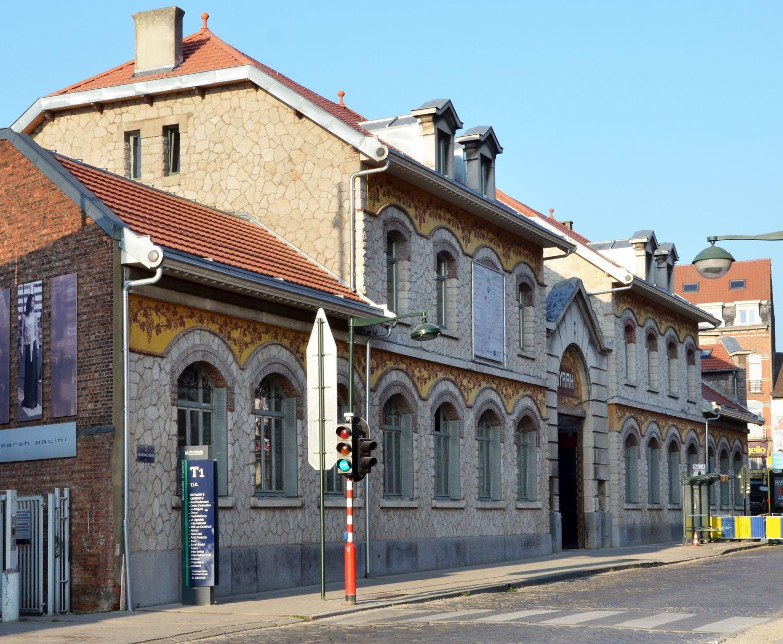 Rue Dieudonné Lefèvre 4, anciens établissements Byrrh, bâtiment d'entrée© ARCHistory / APEB, 2018