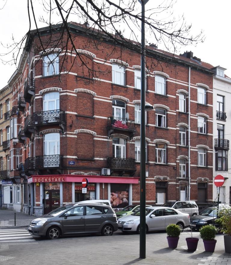 Boulevard Émile Bockstael 43 et rue Niellon 2, 2017