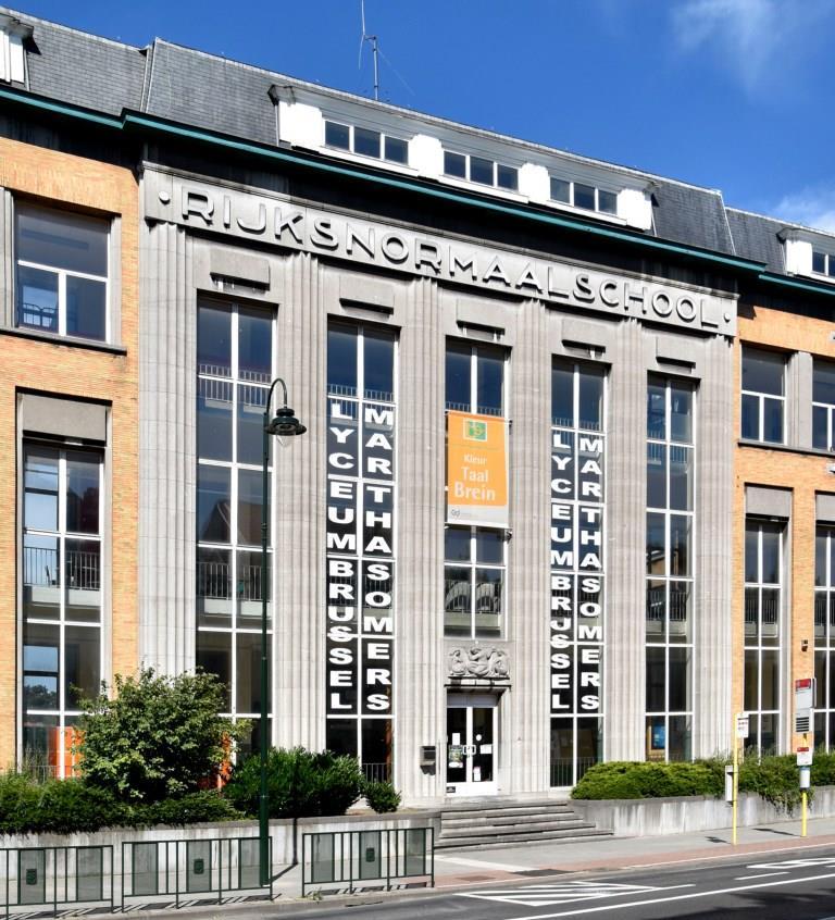 Karel Bogaerdstraat 4, voormalige Rijksnormaalschool, 2017
