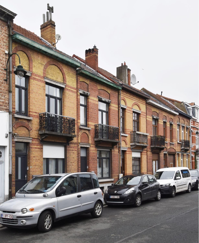 Rue Ledeganck 27 à 35© ARCHistory / APEB, 2018