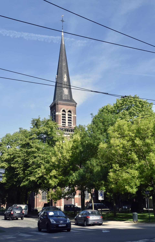 Place Saint-Lambert 38, église Saint-Lambert© ARCHistory / APEB, 2018